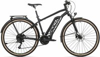 elektrokolo Rock Machine CrossRide e450 Touring TEST mat black/dark silver/silver (500Wh) (M)