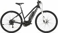 elektrokolo Rock Machine CrossRide e400 Lady mat black/silver/white (L)