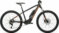 elektrokolo Rock Machine Torrent e30-27 mat black/neon orange/dark grey (S)