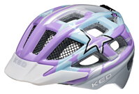 přilba KED Kailu M Purple Lightblue Stars 53-59 cm