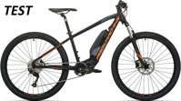elektrokolo Rock Machine Torrent e30-27 TEST mat black/neon orange/dark grey (M)