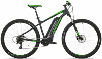 elektrokolo Rock Machine Storm e60-29 mat black/silver/neon green +bat. 418 Wh, 20""