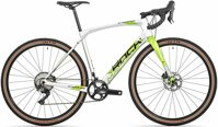 kolo Rock Machine GravelRide CRB 900 TEST gloss silver/DVO green/black 54cm