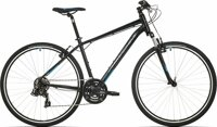 kolo Rock Machine CrossRide 75 gloss black/neon blue/dark grey (M)