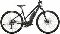 elektrokolo Rock Machine CrossRide e500 Lady mat black/mint green/dark grey (M)
