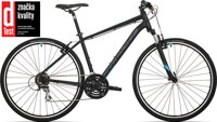 kolo Rock Machine CrossRide 250 mat black/petrol blue/dark grey (M)