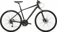 kolo Rock Machine CrossRide 700 mat black/grey/dark grey (M)