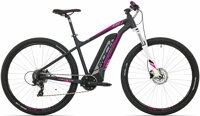 "elektrokolo Rock Machine Catherine e60-29 TEST mat black/silver/pink +bat. 504 Wh, 17"" (M)"