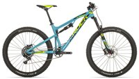 "kolo Rock Machine 27+ Blizzard 90 21"" petrol blue/radioactive yellow/black"