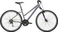 kolo Rock Machine CrossRide 250 lady mat grey/pink/violet (M)