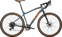 kolo Rock Machine GravelRide 700 mat slate grey/neon orange/black 50 cm