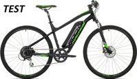 elektrokolo Rock Machine CrossRide e350 TEST 504 Wh+nab. mat black/silver/neon green (XL)
