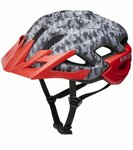 přilba KED Status Junior M camouflage anthracite red 52-59 cm