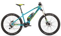"elektrokolo Rock Machine Blizz e50-27+ 21"" petrol blue/radioactive yellow/black"