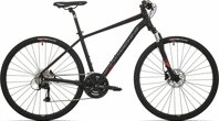 kolo Rock Machine CrossRide 500 mat black/brick red/dark grey (M)