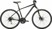 kolo Rock Machine CrossRide 300  gloss black/neon green/dark grey (M)