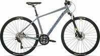 kolo Rock Machine CrossRide 800 mat grey/radioactive yellow/night blue (M)