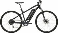 "elektrokolo Rock Machine CrossRide e350 mat black/silver/dark grey +bat. 418 Wh, 22"" (XL)"