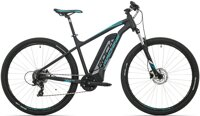 elektrokolo Rock Machine Storm e60-29 mat black/silver/petrol blue +bat. 418 Wh, 20""